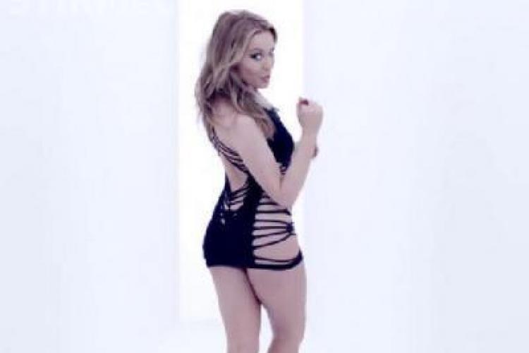 Kylie Minogue e sexy si la 43 de ani! Vedeta nu a renuntat la tinutele sexy in noul ei videoclip - VIDEO