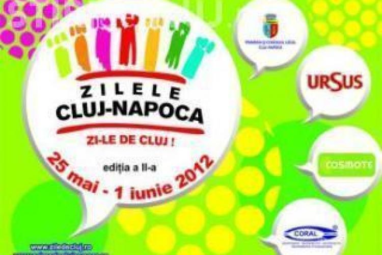 ZILELE CLUJULUI: Programul zilei de vineri, 25 mai
