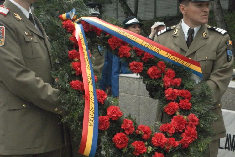 Eroii cazuti la datorie in Decembrie 1989, omagiati la Cluj-Napoca VIDEO