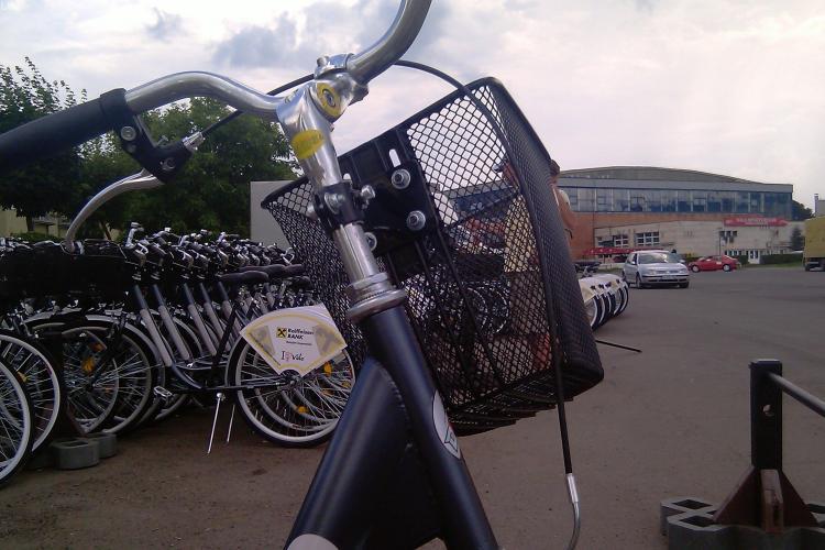Pistele de biciclete din Cluj-Napoca, amenajate de o asociere de firme din Bucuresti, Constanta si Covasna