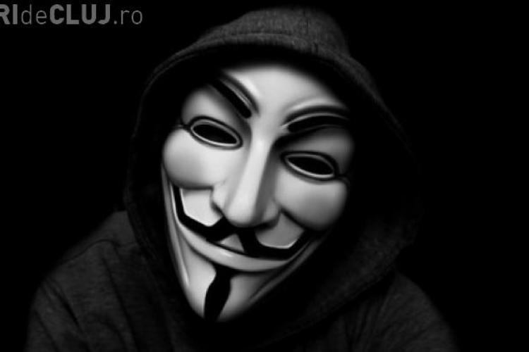 Hackeri Anonymous Romania retinuti si la Cluj-Napoca de procurorii DIICOT