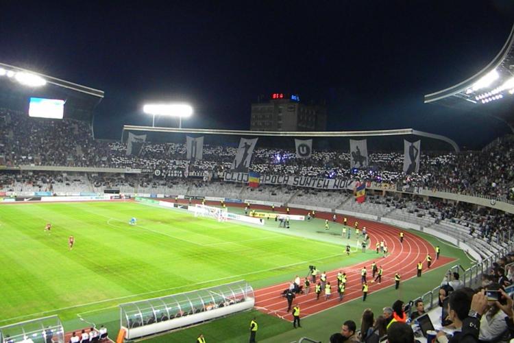 """Galeria U: """"Cluj-Napoca suntem noi!"""" - VEZI imagini spectaculoase de pe Cluj Arena FOTO"""