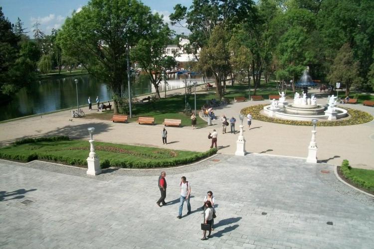 """Parcul Central """"Simion Barnutiu"""" arata """"impecabil"""" FOTO"""