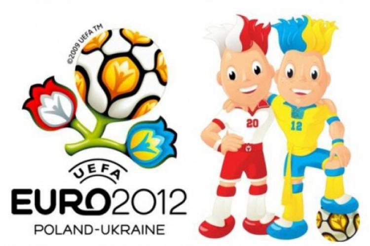 EURO 2012. Care este programul meciurilor si al transmisiunilor TV