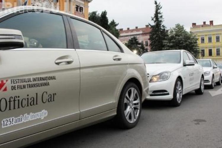 Mercedes-Benz este masina oficiala TIFF