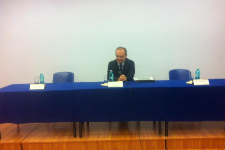 Ce spune Emil Boc despre dezbaterea esuata cu Marius Nicoara FOTO