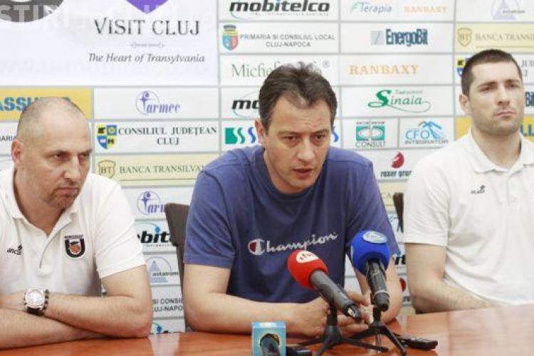 Cristescu: Vreau sa continuam cu Marcel Tenter antrenor