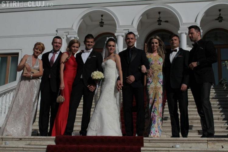 Edi Stanciou si Beatrice Sarbu, nunta de 50.000 de euro la Palatul Snagov FOTO