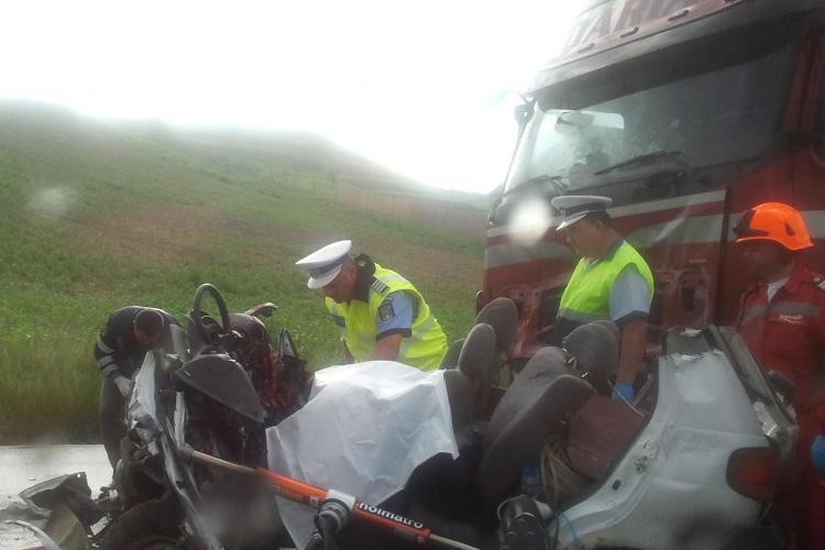 Accidentul din Turda soldat cu 2 morti a fost provocat de un sofer beat