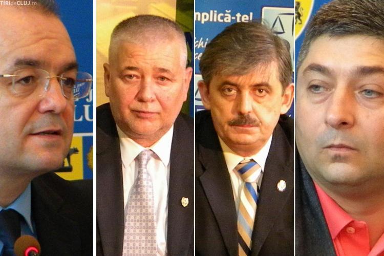 ALEGERI CLUJ: Unde VOTEAZA Marius Nicoara, Emil Boc, Horea Uioreanu si Alin Tise