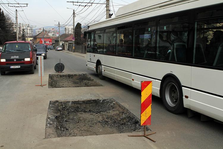 E.ON Gaz muta la Cluj-Napoca conductele de gaz sub trotuare sau pe marginea drumurilor