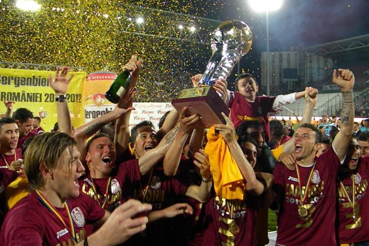 CFR Cluj este cea mai valoroasa echipa din Romania