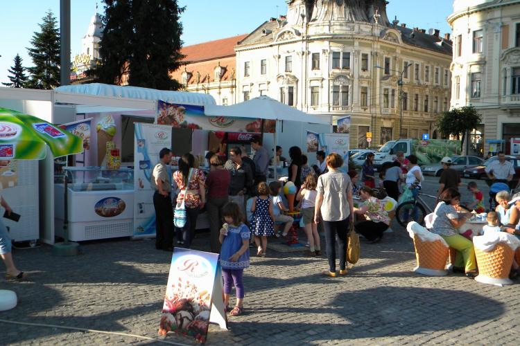 Festivalul Inghetatei a inceput la Cluj-Napoca