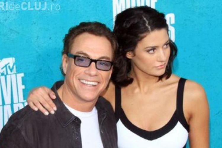 Vezi cum arata fata lui Jean Claude Van Damme la 21 de ani FOTO