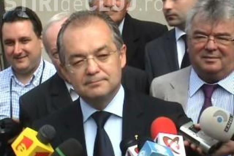 ALEGERI CLUJ: Emil Boc a votat - Sunt dezamagit de actuala politica VIDEO