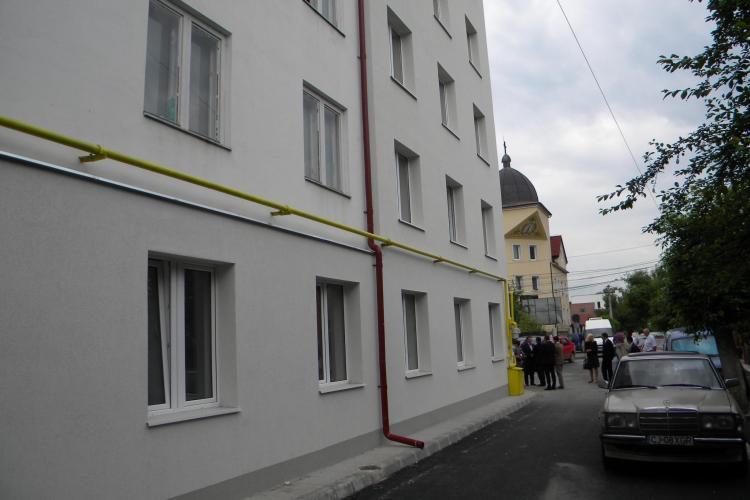 24 de locuinte sociale, inaugurate pe strada Albac! VEZI cum arata FOTO si VIDEO