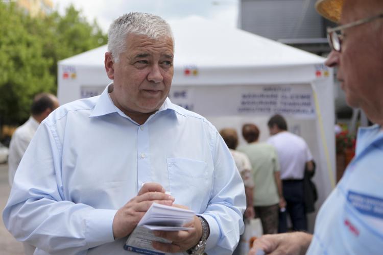 USL Cluj: Neavand proiecte proprii, Emil Boc minte cu privire la proiectele lui Marius Nicoara