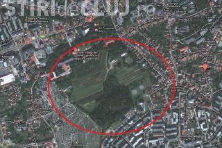 Padurea-parc, situata intre cartierele Zorilor si Campusul Hasdeu, este inaugurata astazi