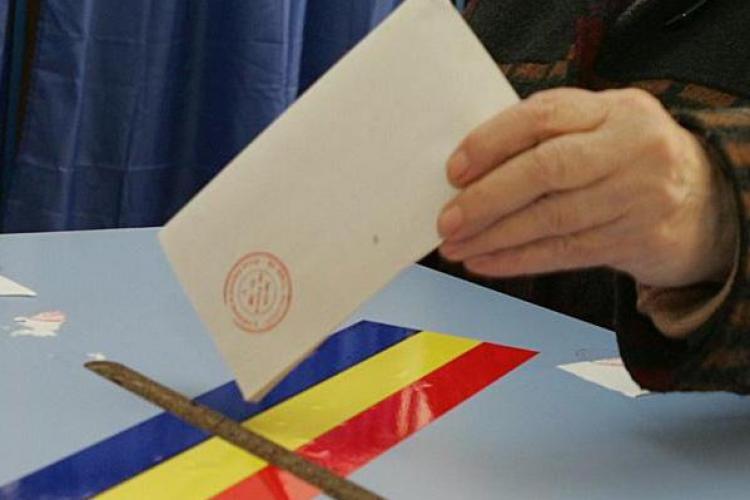 ALEGERI CLUJ: Pana la ora 17.00 procentul la vot este de 32,67% VIDEO