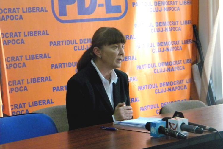 """Monica Macovei, la Cluj: """"Emil este un om puternic, curajos, integru"""""""
