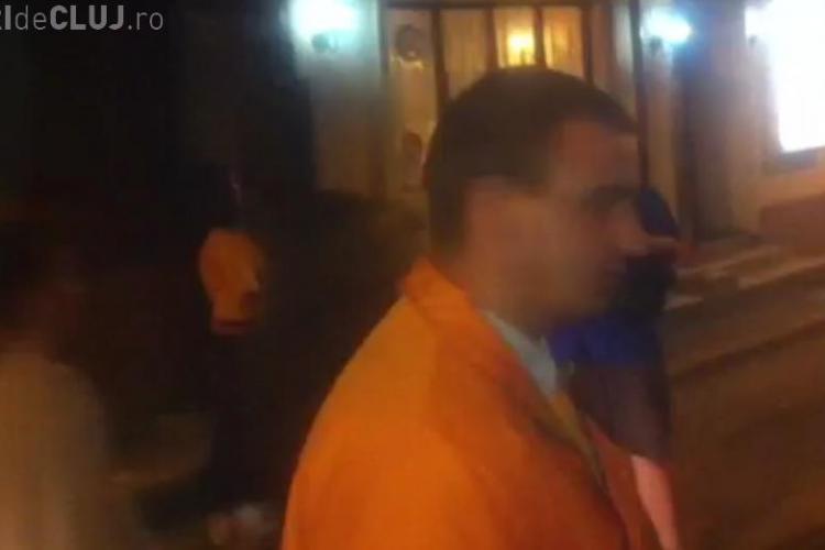 Oameni de campanie irascibili in Hasdeu VIDEO
