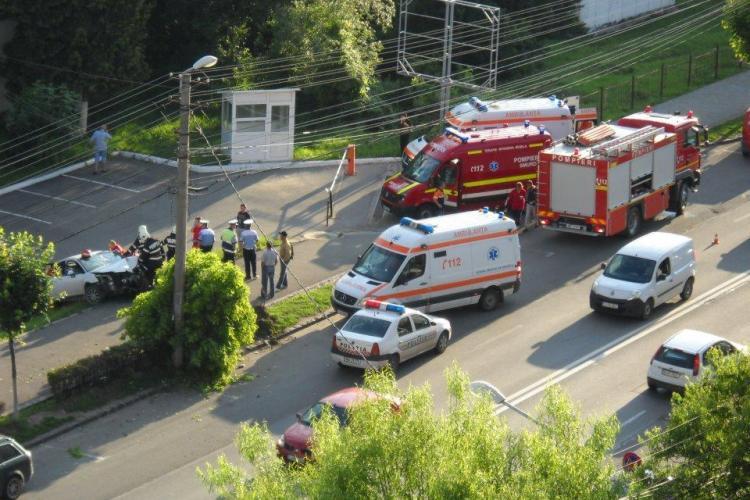 Accident pe strada Observatorului! Un sofer beat a bagat mai multe persoane in spital