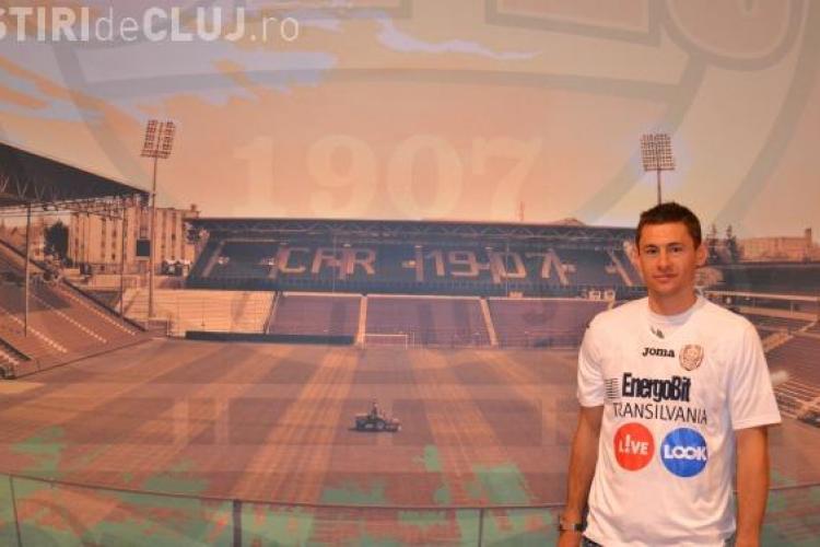 Laszlo Sepsi: Am venit la CFR Cluj pentru ca sunt ardelean