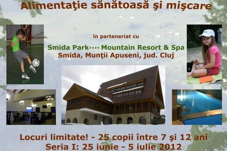 Tabara de stil de viata sanatos organizata de un centru medical privat(P)