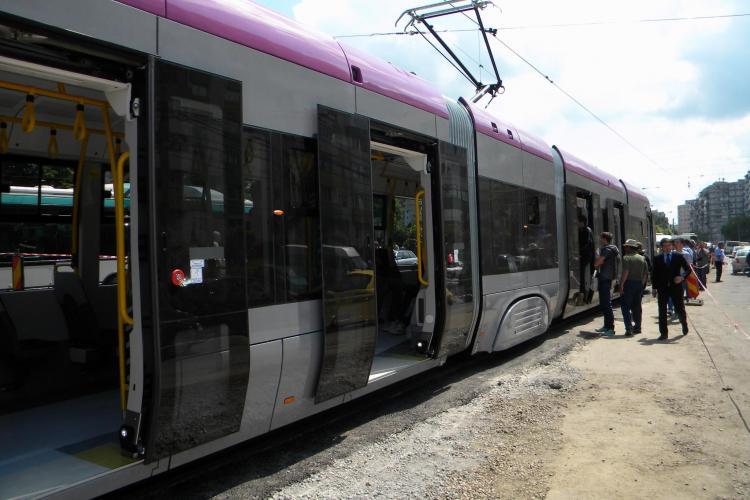Tramvai de la Podul Calvaria pana in comuna Floresti! Costul ar fi de 2 milioane de euro pe kilometru VIDEO