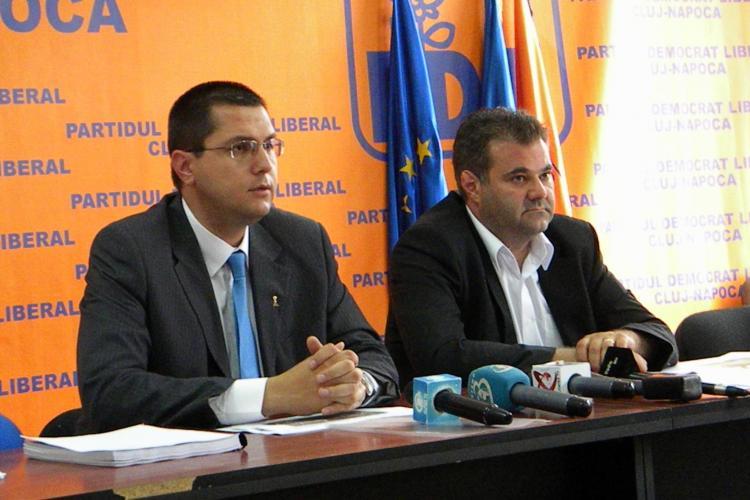 Scandal PDL - USL pe proiecte! Democrat liberalii il acuza pe Marius Nicoara ca i-a furat lui Boc ideile VIDEO