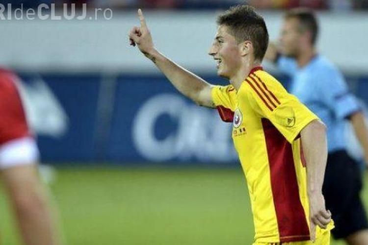 """Gicu Grozav nu pleaca de la U Cluj! Vezi cum l-a inselat Walter pe noul """"Adi Mutu"""" al nationalei"""