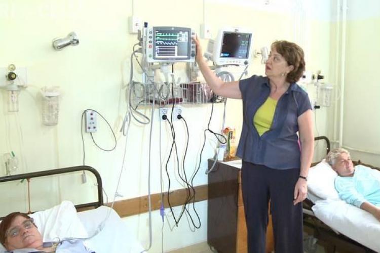 Aparatură de 180.000 de dolari, donată Spitalului Clinic Judetean din Cluj FOTO