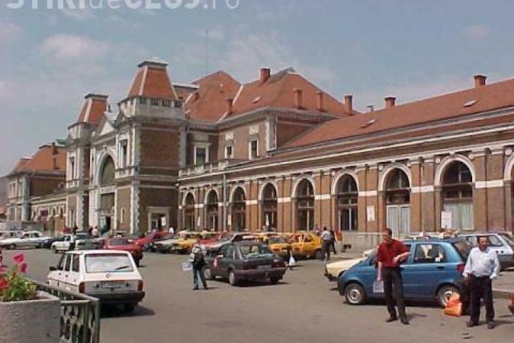 Standul de taxi din Piața Gării se desfiinţează temporar