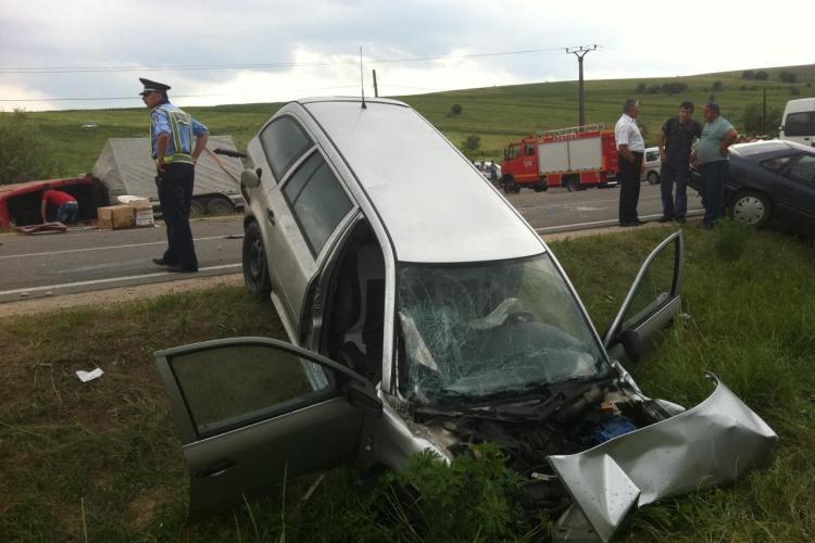 Accident la Suceag! Cinci mașini implicate și opt victime. O persoană a murit VIDEO de la locul ACCIDENTULUI