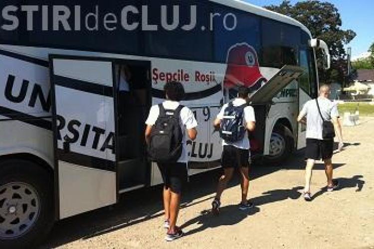 Ce lot a deplasat U Cluj în Austria! Echipa este total schimbată. Au vreo sansă în noul sezon? VIDEO