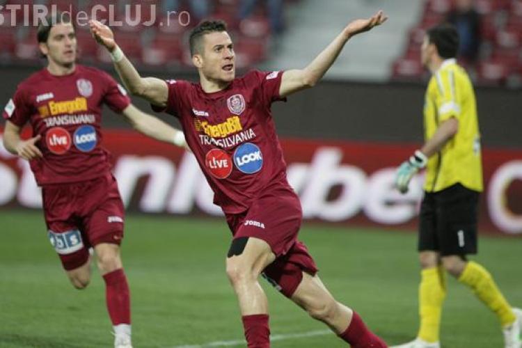 CFR Cluj a caștigat cu 4-0 un meci din cantonamentul din Austria
