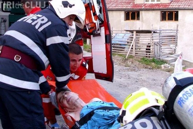 Bătrânul de 70 de ani implicat în explozia de miercuri seara a murit la spital