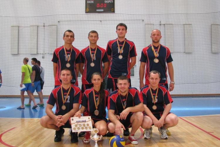 ISU Cluj, locul 3 în finala campionatului de volei organizat de Ministerul de Interne