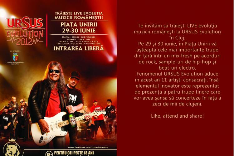 Începe URSUS Evolution la Cluj-Napoca. Vezi ce trupe vor concerta!