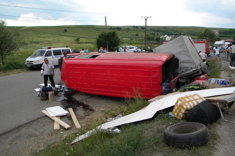 ACCIDENT LA SUCEAG! Fotografii primite de la cititori