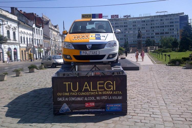 POLITAXI a parcat si la Cluj FOTO