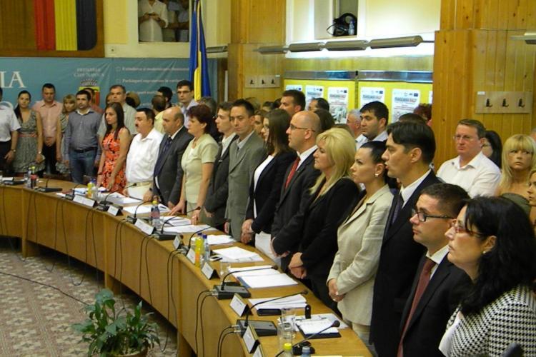 Consilierii locali UDMR Cluj au jurat și în maghiară
