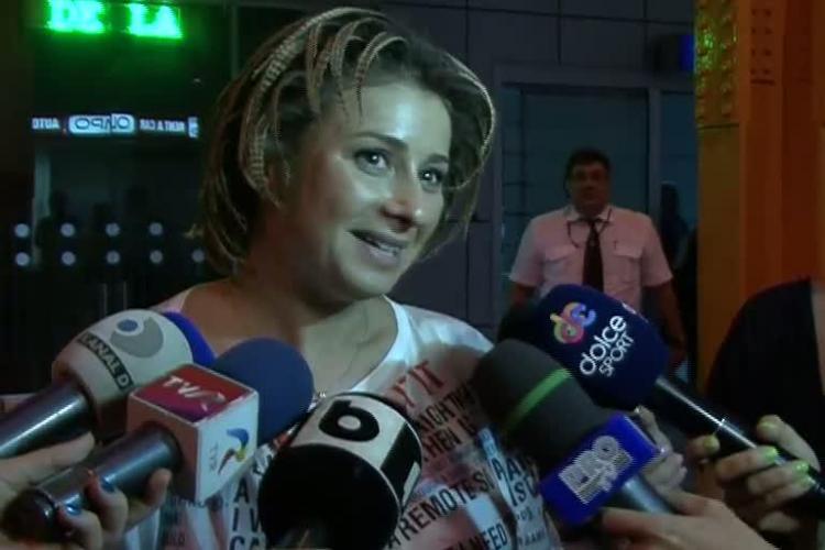 Ana Maria Prodan a ajuns la Cluj: Nu sunt săgeata lui Walter sau Becali VIDEO