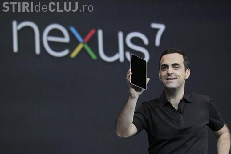 Google a lansat tableta de 200 de dolari FOTO