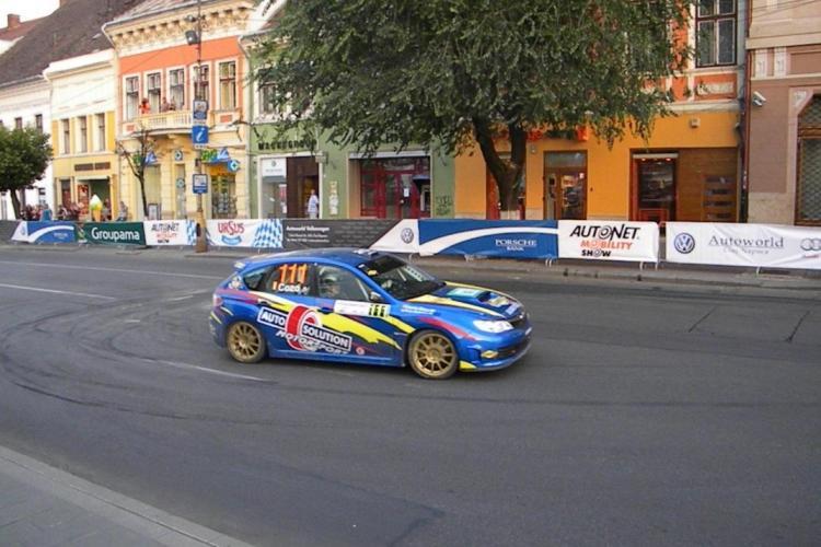 Raliul de la Cluj, câștigat de echipajul maghiar Csaba Spitzmuller - Tamas Szoke