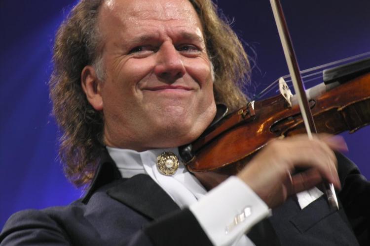 Concert al violonistului Andre Rieu transmis în direct la Cinema Florin Piersic