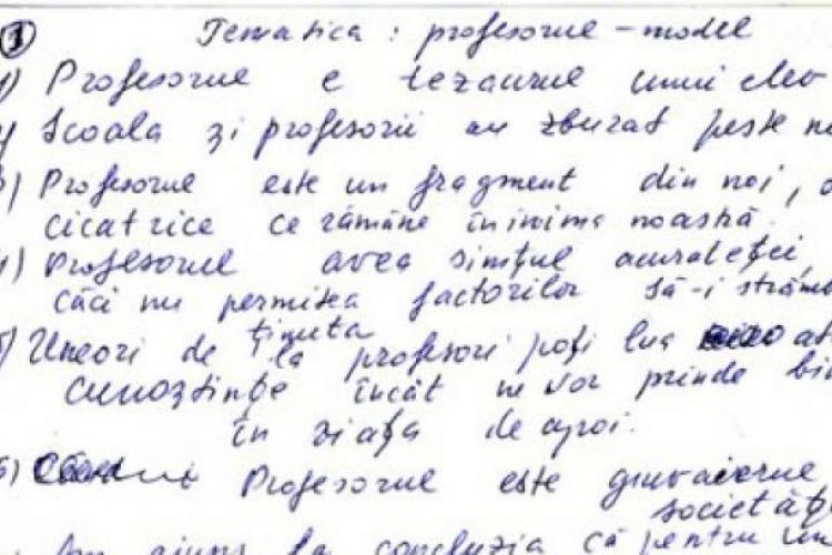 EVALUAREA NAŢIONALĂ 2012: Perle din examenul de la limba si literatura română