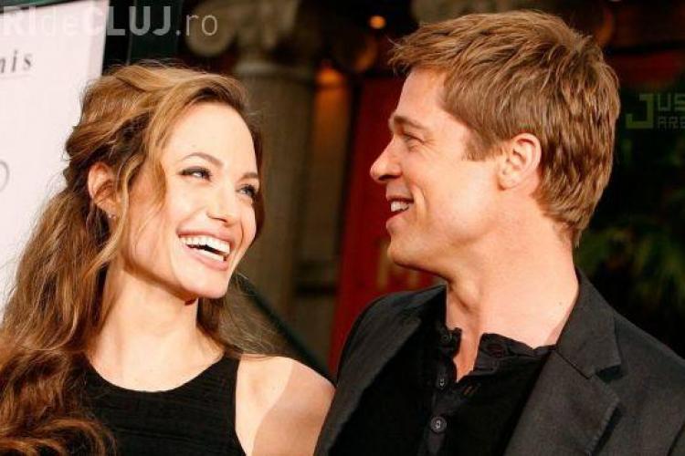 Angelina Jolie şi Brad Pitt se căsătoresc. Vezi locaţia