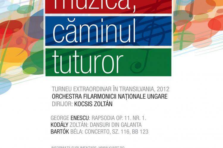 Orchestra Filarmonicii Naționale Ungare susține un concert la Cluj