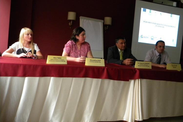 Cursuri gratuite de instruire managerială la Cluj-Napoca